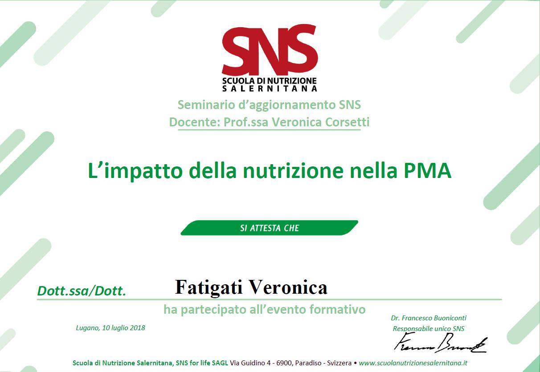 Nutrizione nella PMA(Procreazione Medicalmente Assistita)